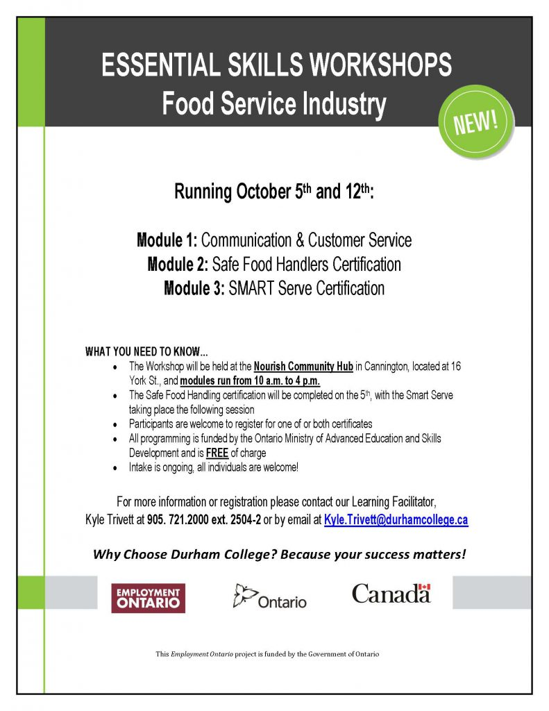 Smart Serve and Safe Food Handler's Certification