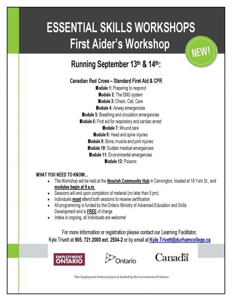 First Aid Cpr Certification Free Upcoming Workshop In Cannington