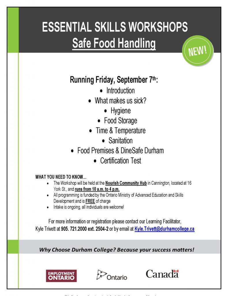 Safe Food Handling Certificate Free Upcoming Workshop In Cannington