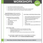 Free Workshops in Durham Region