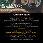 Smash Kitchen & Bar, Opening Soon in Whitby