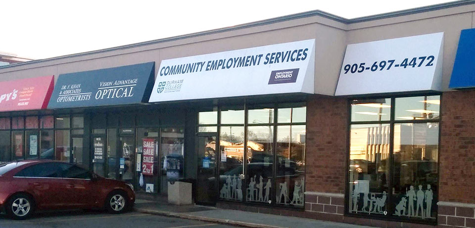 Bowmanville Community Employment Services office